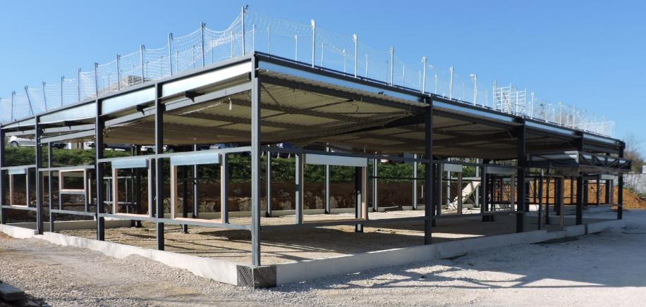 Bâtiment réalisé par l`entreprise FRANCIOLI à DOLE