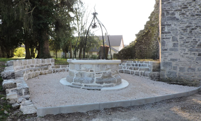 Rénovation du puits à Lavans les Dole - Entreprise FRANCIOLI