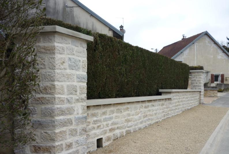 Mur Maçonnerie Jardin